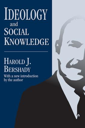 Ideology and Social Knowledge: 1st Edition (Paperback) book cover
