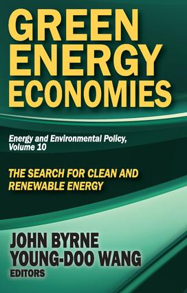 Green Energy Economies: The Search for Clean and Renewable Energy book cover