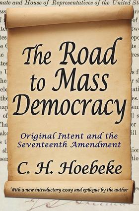 The Road to Mass Democracy