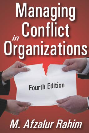 Managing Conflict in Organizations: 4th Edition (Paperback) book cover