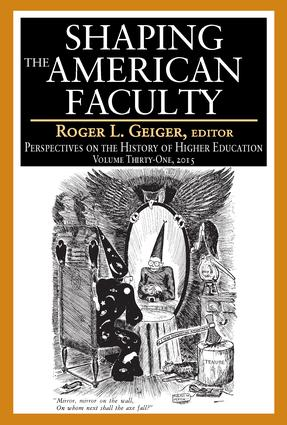 Shaping the American Faculty: Perspectives on the History of Higher Education book cover