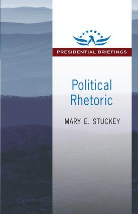Political Rhetoric: A Presidential Briefing Book book cover