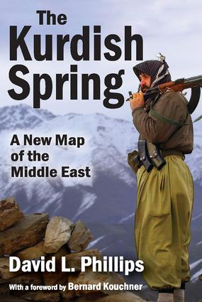 The Kurdish Spring: A New Map of the Middle East, 1st Edition (Paperback) book cover