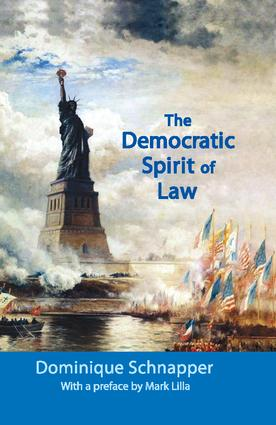 The Democratic Spirit of Law: 1st Edition (Hardback) book cover