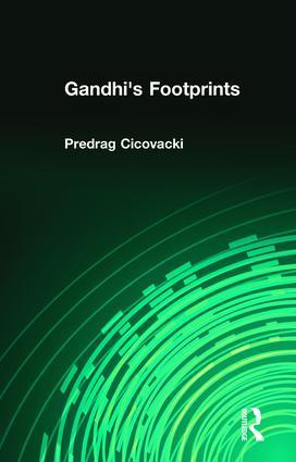 Gandhi's Footprints: 1st Edition (Paperback) book cover