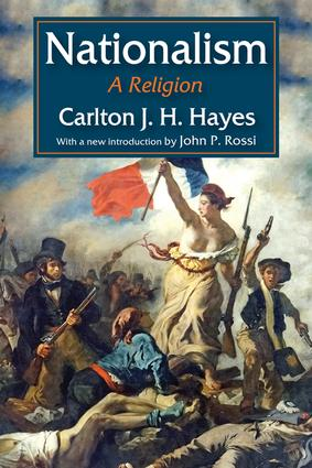 Nationalism: A Religion, 1st Edition (Paperback) book cover