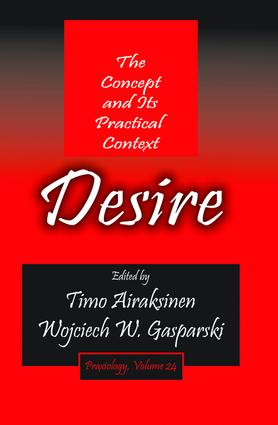 Desire: The Concept and its Practical Context book cover