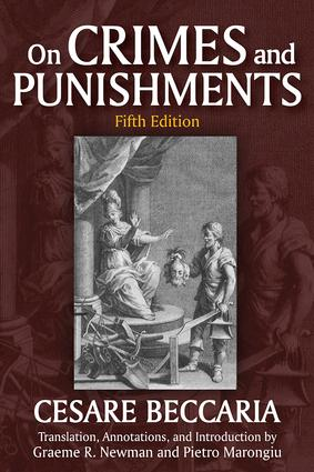 On Crimes and Punishments: 5th Edition (Paperback) book cover
