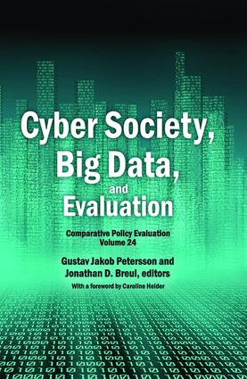 Cyber Society, Big Data, and Evaluation: Comparative Policy Evaluation (Hardback) book cover
