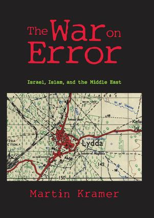 The War on Error: Israel, Islam and the Middle East (Paperback) book cover