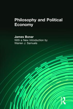 Philosophy and Political Economy: 1st Edition (Paperback) book cover