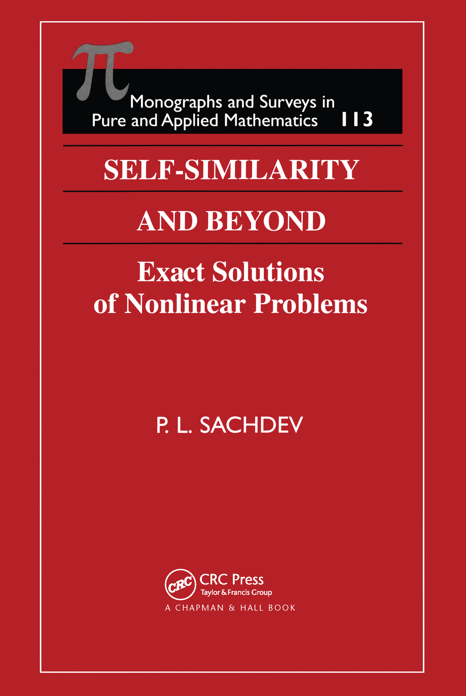 Self-Similarity and Beyond