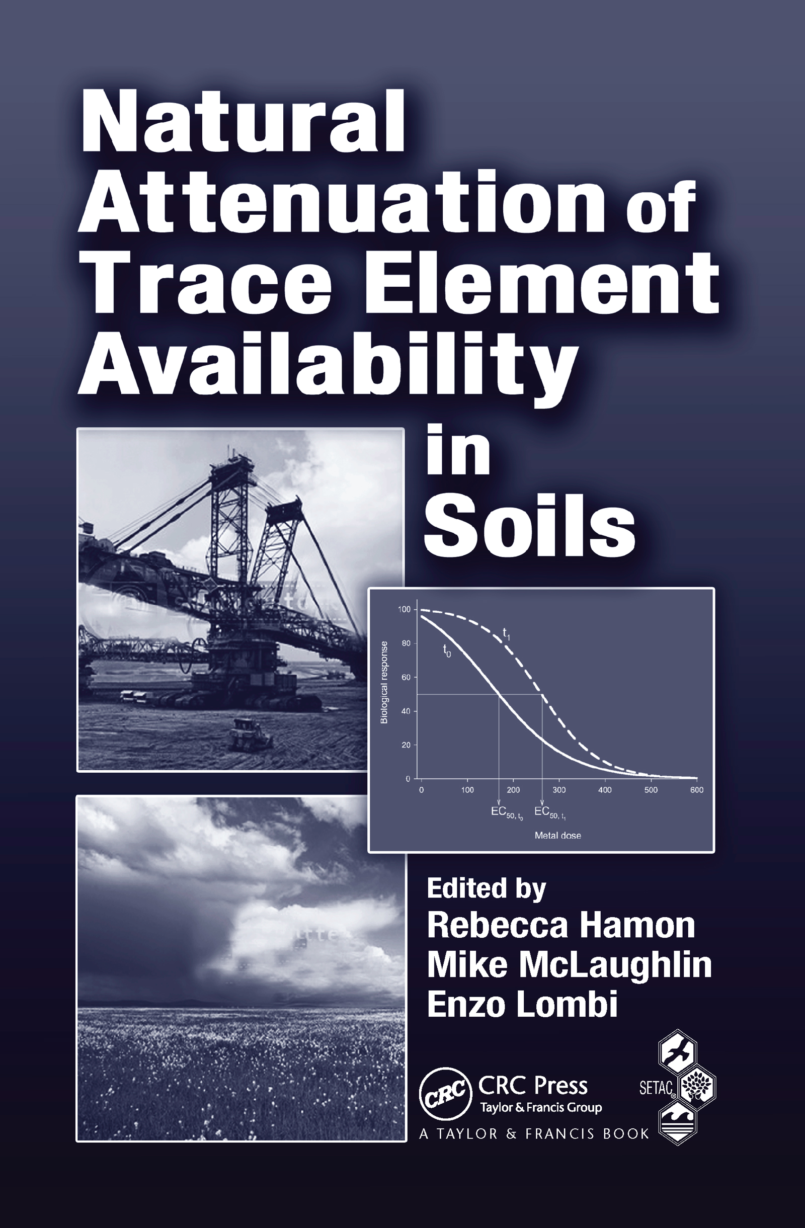Natural Attenuation of Trace Element Availability in Soils: 1st Edition (Hardback) book cover