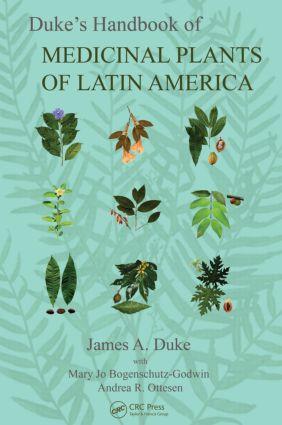 Duke's Handbook of Medicinal Plants of Latin America book cover
