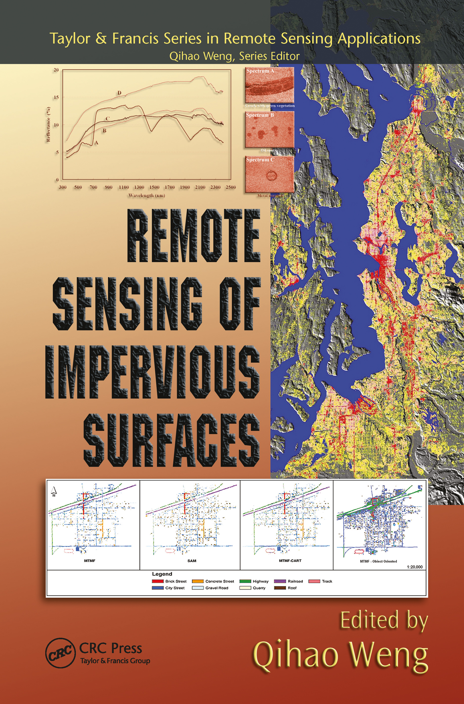 Remote Sensing of Impervious Surfaces book cover