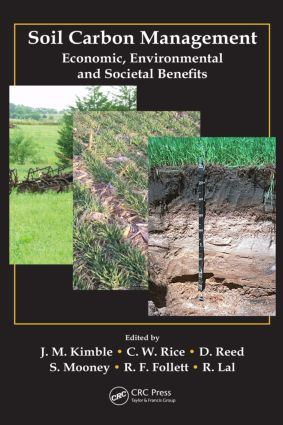 Soil Carbon Management: Economic, Environmental and Societal Benefits (Hardback) book cover