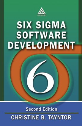 Six Sigma Software Development: 2nd Edition (Paperback) book cover