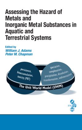 Assessing the Hazard of Metals and Inorganic Metal Substances in Aquatic and Terrestrial Systems (Hardback) book cover