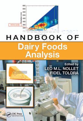 Handbook of Dairy Foods Analysis: 1st Edition (Hardback) book cover