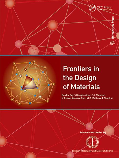 Frontiers in the Design of Materials: 1st Edition (Hardback) book cover