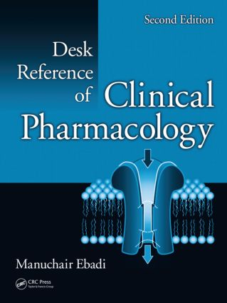Desk Reference of Clinical Pharmacology, Second Edition: 2nd Edition (Hardback) book cover
