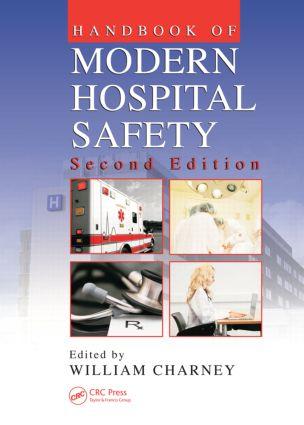 Handbook of Modern Hospital Safety, Second Edition: 2nd Edition (Hardback) book cover