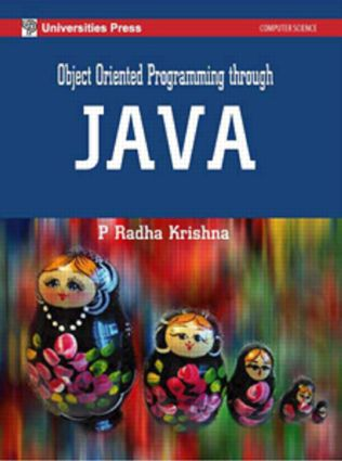Object Oriented Programming Through Java: 1st Edition (Hardback) book cover