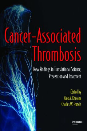 Cancer-Associated Thrombosis: New Findings in Translational Science, Prevention, and Treatment, 1st Edition (Paperback) book cover