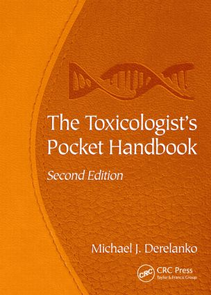 The Toxicologist's Pocket Handbook, Second Edition: 2nd Edition (Paperback) book cover