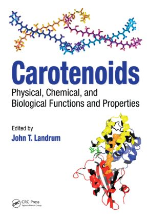 Carotenoids: Physical, Chemical, and Biological Functions and Properties (Hardback) book cover