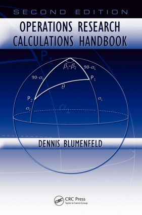 Operations Research Calculations Handbook, Second Edition book cover