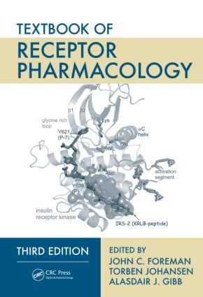 Textbook of Receptor Pharmacology: 3rd Edition (Hardback) book cover