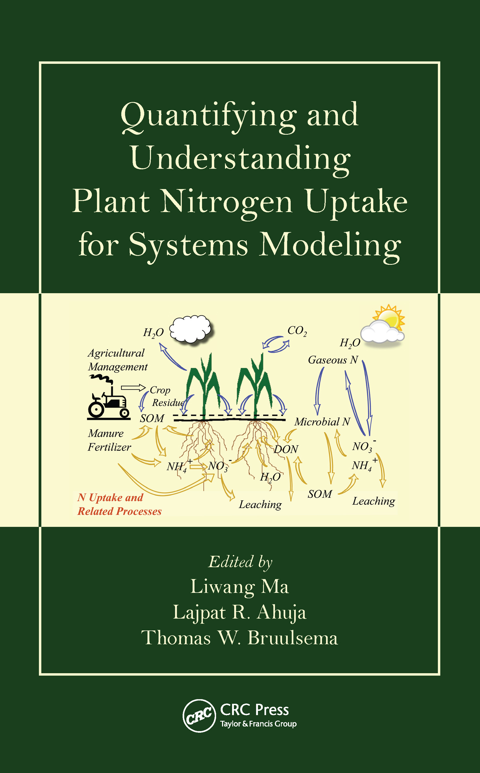 Quantifying and Understanding Plant Nitrogen Uptake for Systems Modeling: 1st Edition (Hardback) book cover