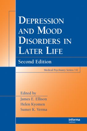 Mood Disorders in Later Life: 2nd Edition (Hardback) book cover