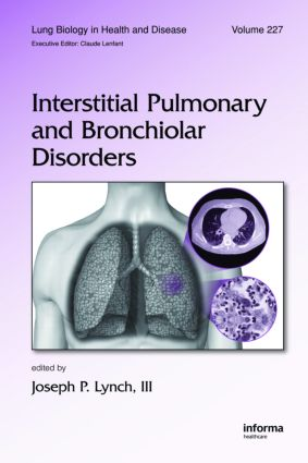 Interstitial Pulmonary and Bronchiolar Disorders: 1st Edition (Hardback) book cover