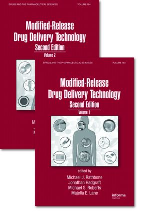 Modified-Release Drug Delivery Technology, Second Edition: 2nd Edition (Hardback) book cover