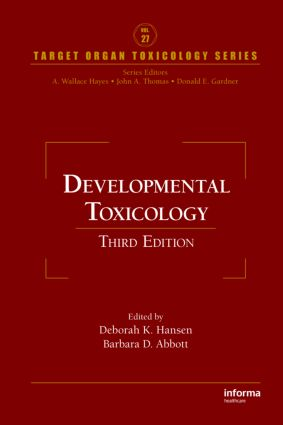 Developmental Toxicology, Third Edition book cover