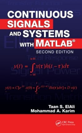 Continuous Signals and Systems with MATLAB: 2nd Edition (Hardback) book cover