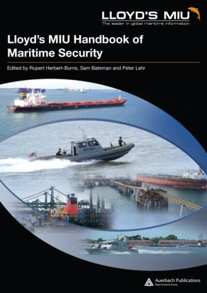 Lloyd's MIU Handbook of Maritime Security (Hardback) book cover