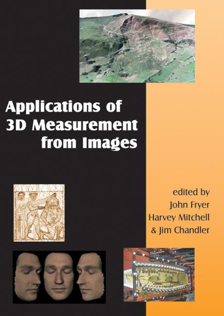 Applications of 3D Measurement from Images + DVD (Hardback) book cover