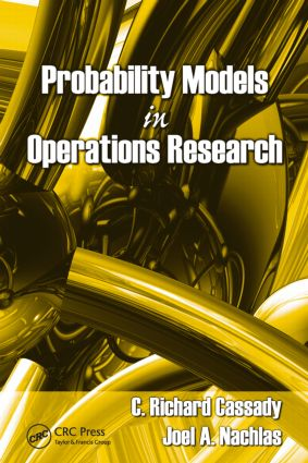 Probability Models in Operations Research: 1st Edition (Hardback) book cover