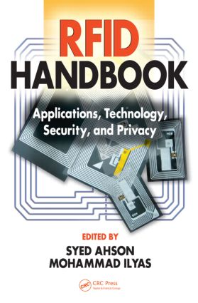 RFID Handbook: Applications, Technology, Security, and Privacy, 1st Edition (Hardback) book cover