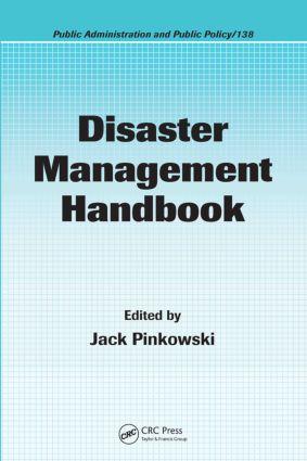 Disaster Management Handbook book cover
