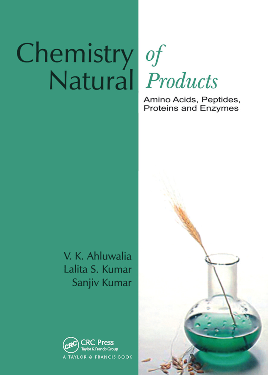 Chemistry of Natural Products: Amino Acids, Peptides, Proteins, and Enzymes, 1st Edition (Hardback) book cover