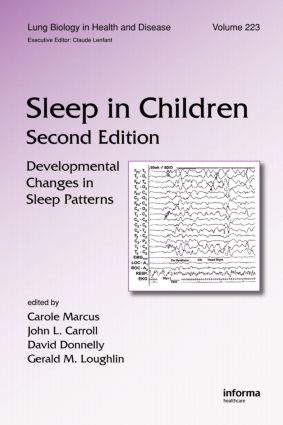Sleep in Children: Developmental Changes in Sleep Patterns, Second Edition, 2nd Edition (Hardback) book cover