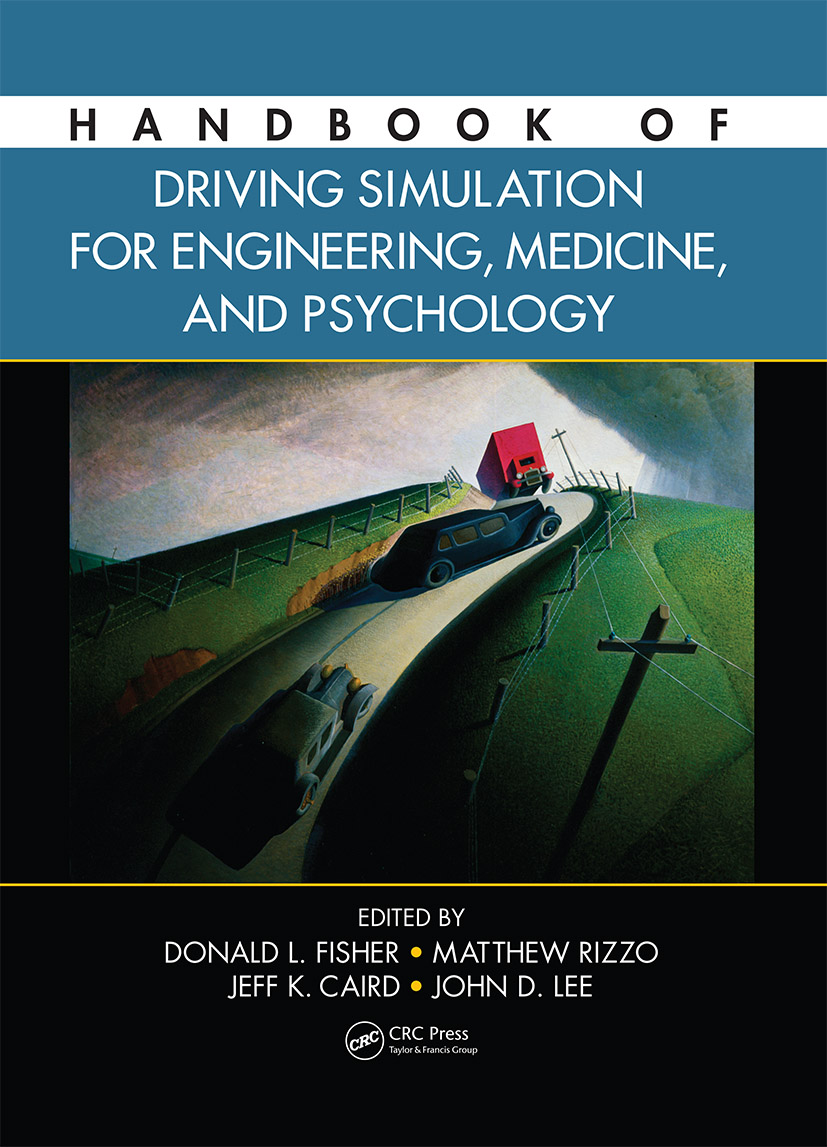Handbook of Driving Simulation for Engineering, Medicine, and Psychology (Hardback) book cover