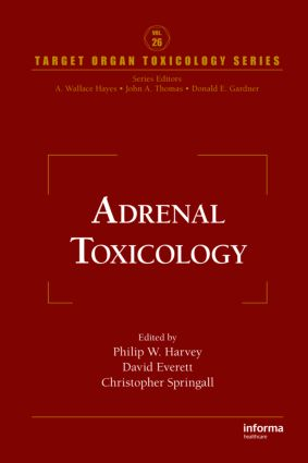 Adrenal Toxicology: 1st Edition (Hardback) book cover
