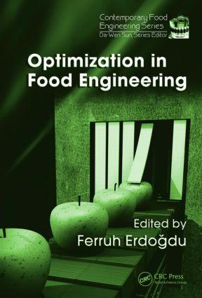 Optimization in Food Engineering: 1st Edition (Hardback) book cover