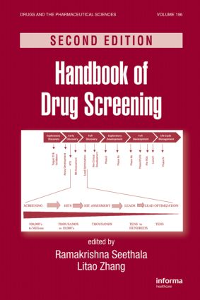 Handbook of Drug Screening: 2nd Edition (Hardback) book cover