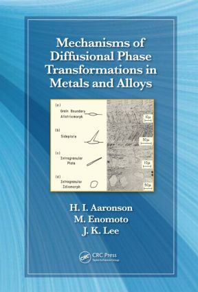 Mechanisms of Diffusional Phase Transformations in Metals and Alloys: 1st Edition (Hardback) book cover